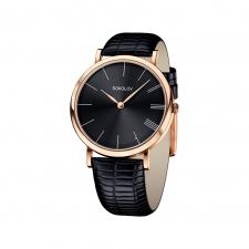 Женские золотые часы 104.01.00.000.04.01.2