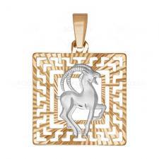 Подвеска знак зодиака «Козерог» 032229